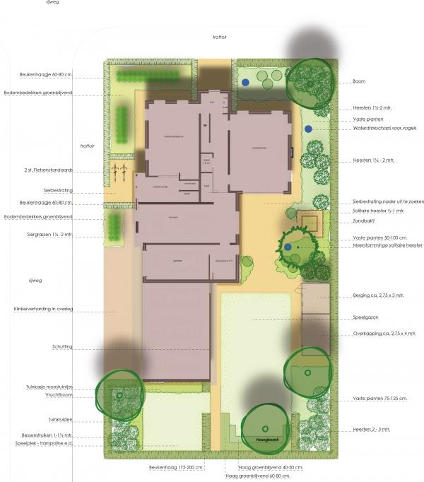 Tuinontwerp door ervaren tuinontwerpers catalpatuinen for Tuinontwerp door studenten